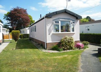 Thumbnail 2 bed mobile/park home for sale in Forest Road Park, Forest Road, Oakmere, Northwich