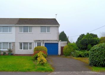 Thumbnail 3 bed semi-detached house for sale in Clos-Glanlliw, Pontlliw, Swansea