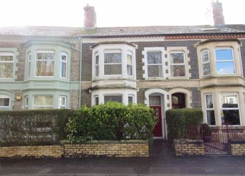 Thumbnail 4 bed terraced house for sale in St. Johns Crescent, Canton, Cardiff