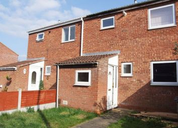 Thumbnail 3 bedroom terraced house to rent in Loxley Close, Redditch