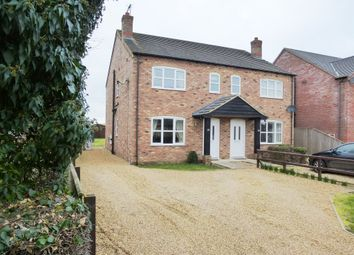Thumbnail 3 bed semi-detached house for sale in High Broadgate, Tydd St. Giles, Wisbech