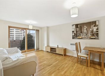 Thumbnail 1 bed flat for sale in Burford Wharf Apartments, 3 Cam Road, London