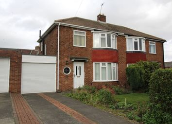 Thumbnail 3 bed semi-detached house for sale in Langdon Road, Hillheads Estate, Newcastle Upon Tyne