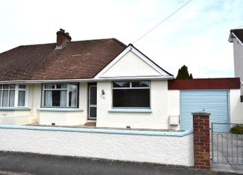 Thumbnail 2 bed semi-detached bungalow for sale in Chestwood Avenue, Sticklepath, Barnstaple