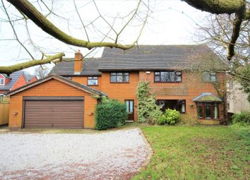Thumbnail 5 bedroom detached house for sale in Marsh Lane, Nantwich