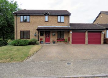 Thumbnail 4 bed detached house for sale in Booker Avenue, Bradwell Common, Milton Keynes