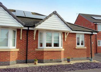 Thumbnail 2 bedroom semi-detached bungalow for sale in Brandon Walk, Sutton-In-Ashfield, Nottinghamshire
