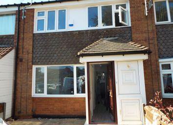 Thumbnail 4 bed terraced house to rent in Hubert Croft, Selly Oak, Birmingham