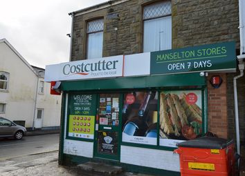Thumbnail Retail premises for sale in Manselton Road, Manselton, Swansea