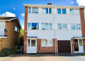 Thumbnail 4 bedroom end terrace house for sale in Mews Court, Old Moulsham, Essex
