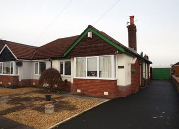 Thumbnail 2 bed bungalow for sale in Brindle Road, Bamber Bridge, Preston, Lancashire