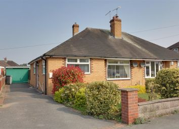 Thumbnail 2 bed semi-detached bungalow for sale in Ivy Lane, Alsager, Stoke-On-Trent