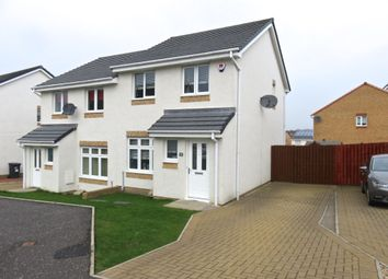 Thumbnail 3 bed semi-detached house for sale in Crofton Wynd, Airdrie