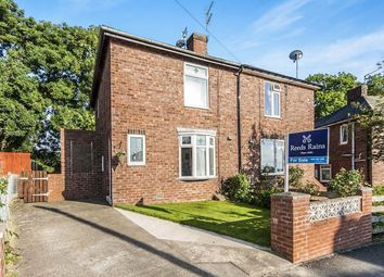 Thumbnail 2 bed semi-detached house for sale in Woodside, Shadforth, Durham