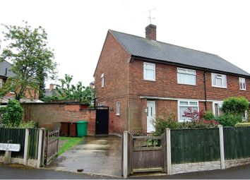 Thumbnail 3 bedroom semi-detached house for sale in Ainsley Road, Nottingham