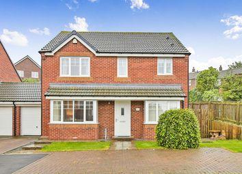 Thumbnail 4 bed detached house for sale in Kestrel Close, Easington Lane, Houghton Le Spring