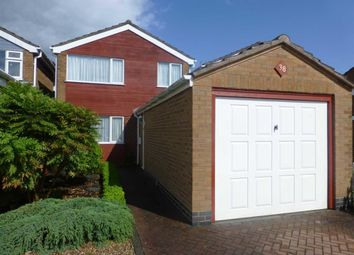 Thumbnail 3 bedroom detached house for sale in Blackburn Road, Barwell, Leicester