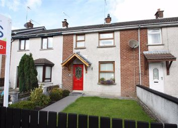Thumbnail 3 bedroom terraced house to rent in Hillfoot Crescent, Ballynahinch, Down