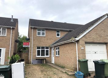 Thumbnail 3 bed semi-detached house for sale in Byerly Place, Downs Barn, Milton Keynes