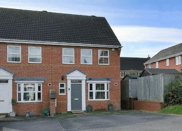 Thumbnail 3 bed semi-detached house for sale in Alfred Gardens, Andover