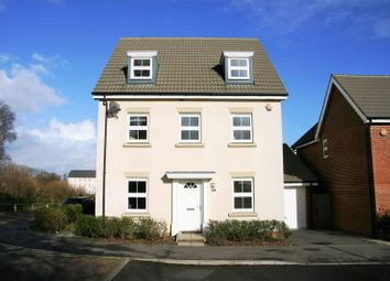 Thumbnail 5 bedroom detached house for sale in Lebburn Meadows, Hedge End, Southampton