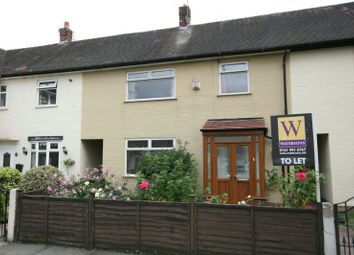 Thumbnail 3 bed terraced house to rent in Warmley Road, Wythenshawe, Manchester