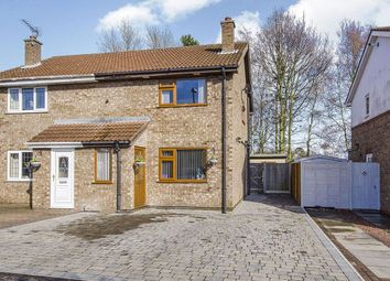 Thumbnail 3 bed semi-detached house for sale in Carr Close, Hemingbrough, Selby