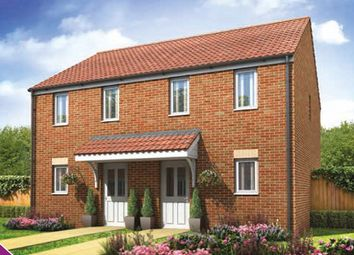 Thumbnail 2 bed semi-detached house for sale in Plot 134, The Morden, Plot 134, The Morden, Galileo, Cranbrook