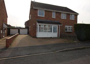 Thumbnail 3 bed semi-detached house to rent in Third Avenue, Grantham, Lincolnshire