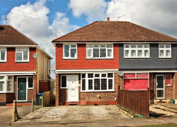 Thumbnail 3 bed semi-detached house for sale in Old Woking, Surrey