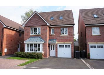 Thumbnail 5 bedroom detached house for sale in Sandland Grove, Nantwich