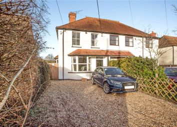 Thumbnail 3 bed semi-detached house for sale in Broadmoor Road, Waltham St. Lawrence, Reading, Berkshire