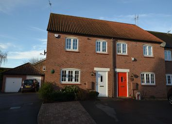 Thumbnail 3 bed semi-detached house for sale in Roman Close, Barrow Upon Soar, Leicestershire