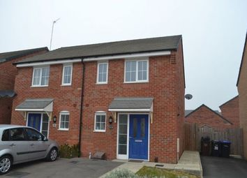 Thumbnail 2 bedroom semi-detached house for sale in Damselfly Road, Pineham Village, Northampton