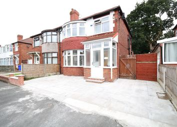 Thumbnail 3 bed semi-detached house to rent in Bournelea Avenue, Burnage, Manchester