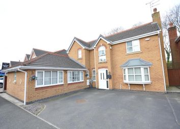 Thumbnail 5 bed detached house for sale in Smithford Walk, Tarbock Green, Prescot, Merseyside