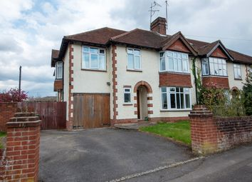 Thumbnail 4 bed semi-detached house for sale in Wendan Road, Newbury