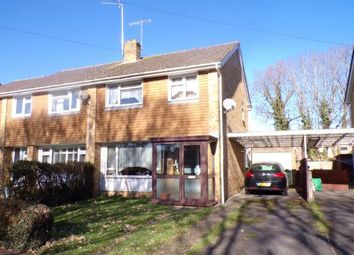 Thumbnail 3 bed semi-detached house for sale in Poulner, Ringwood, Hampshire