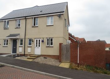 Thumbnail 1 bedroom semi-detached house for sale in Post Coach Way, Cranbrook, Exeter