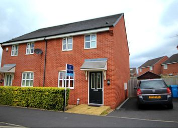Thumbnail 3 bed semi-detached house for sale in Flemish Crescent, Manchester