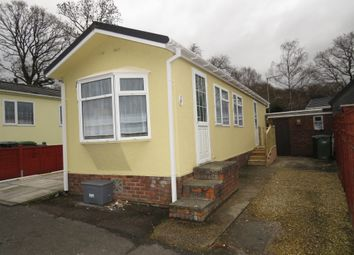 Thumbnail 1 bed mobile/park home for sale in Glen Mobile Home Park, Colden Common, Winchester