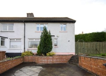 Thumbnail 3 bed end terrace house for sale in Cardross Road, Dumbarton
