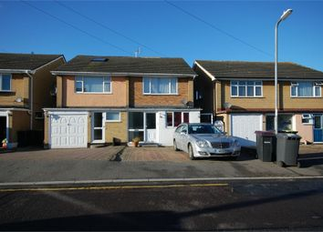 Thumbnail 3 bed terraced house for sale in Glebe Drive, Rayleigh, Essex