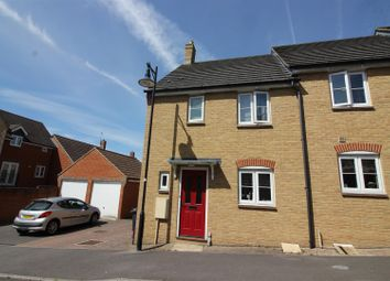 Thumbnail 3 bed end terrace house for sale in Tippett Avenue, Swindon