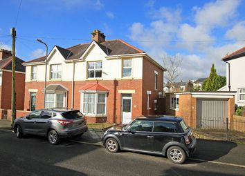 Thumbnail 3 bed semi-detached house for sale in Myrddin Crescent, Carmarthen, Carmarthenshire