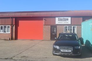 Thumbnail Industrial to let in Blacknest Industrial Estate, Blacknest, Alton