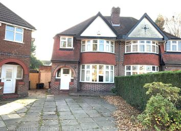 Thumbnail 3 bed semi-detached house to rent in Woodford Green Road, Birmingham