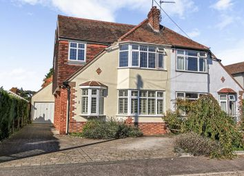 Thumbnail 4 bedroom semi-detached house for sale in Baddow Place Avenue, Great Baddow, Chelmsford