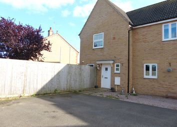 Thumbnail 2 bedroom end terrace house for sale in Mallory Drive, Yaxley