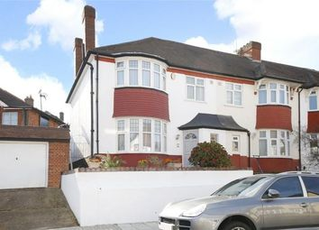 Thumbnail 3 bed end terrace house to rent in Broxholm Road, London